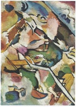 @Kandinsky.Wassily '1866--1944' -'Esquisse pour ``Dèluge``' -'Sketch for ``Deluge``' 1912