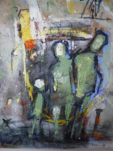 Acryl-Power-People-Families-Abstract-art-Modern-Age-Expressionism-Abstract-Expressionism (1)