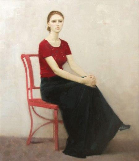 a woman portrait, ilya pyankov