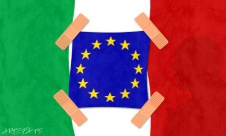 ARTEFATTI_bandiera_ITALIA_EUROPA