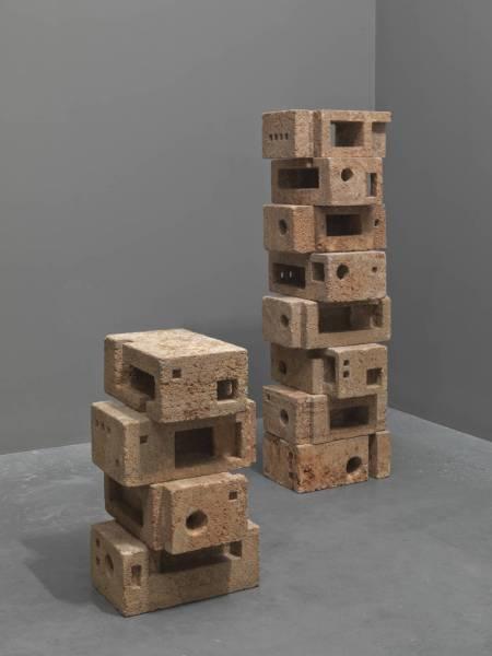 Infinite Structure 1963-5 by Saloua Raouda Choucair born 1916